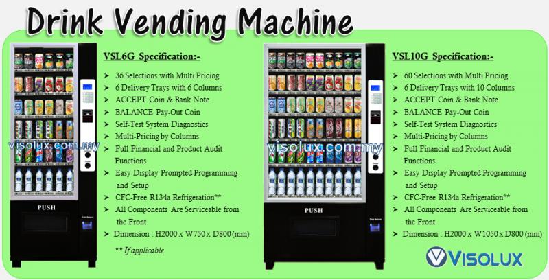 Visolux M Sdn Bhd 398302 W Vending Solution